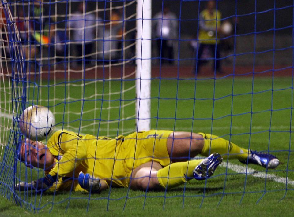 I swear he was our only goalkeeper for years