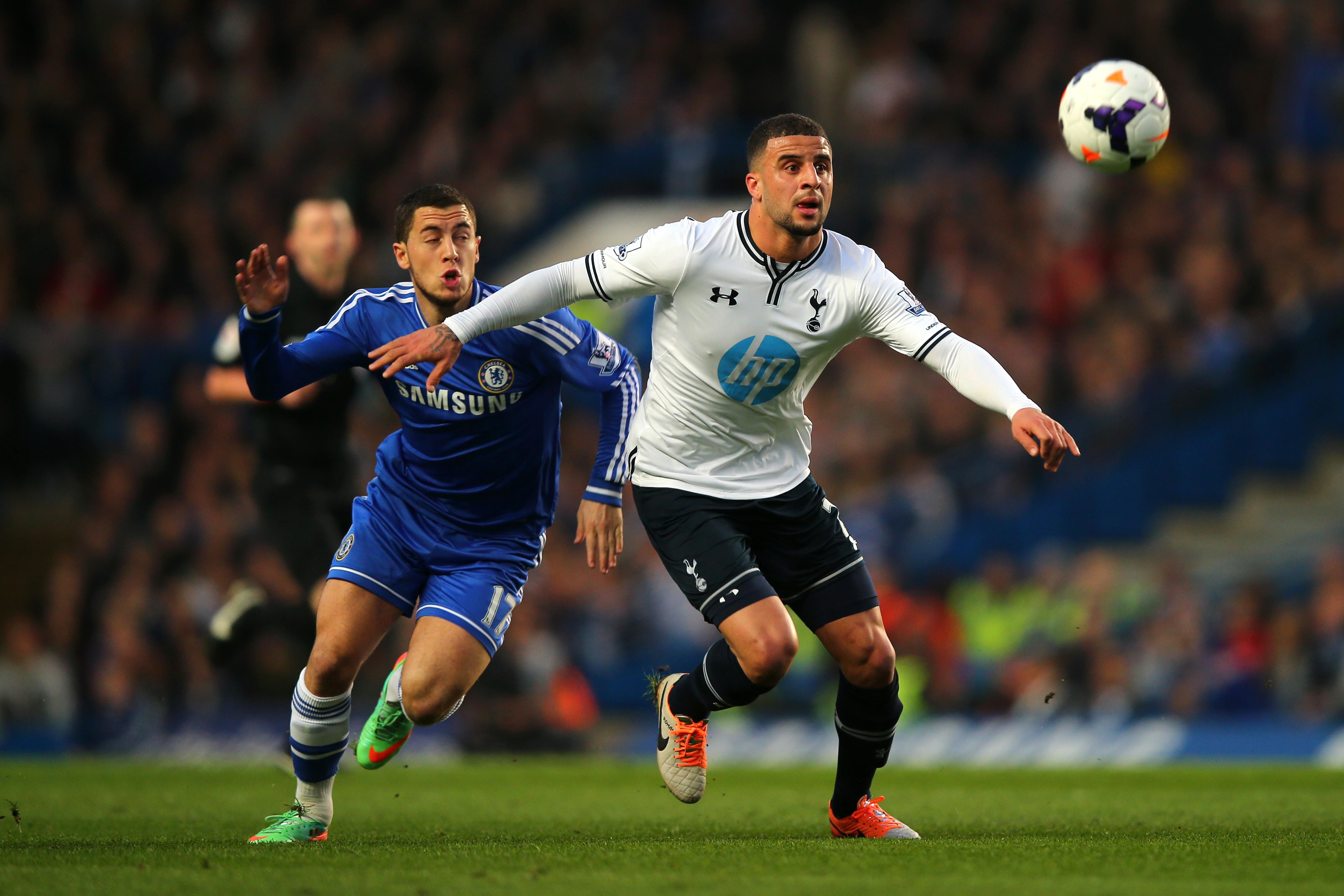 Bossing Eden Hazard just like he will in the final