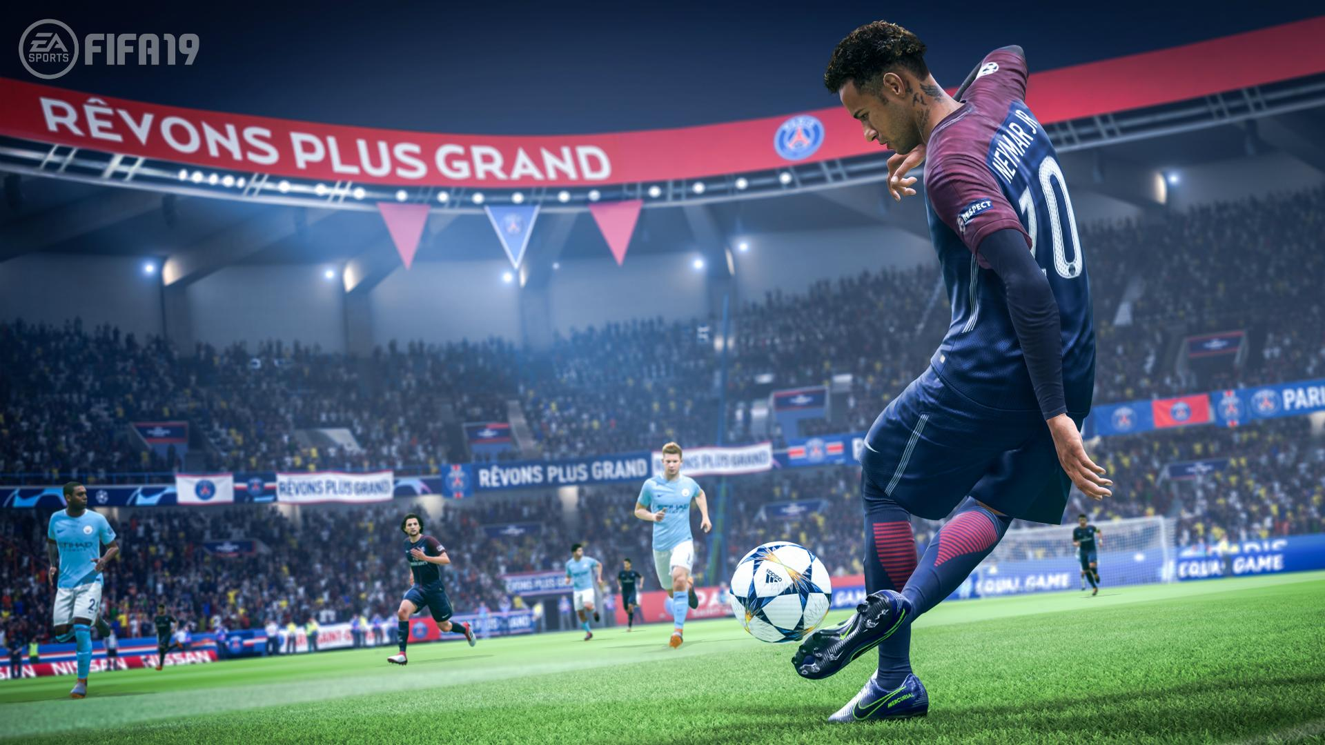 FIFA 19 arrives in a little over a month's time