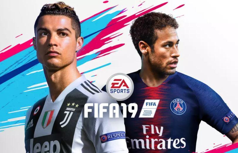 The new FIFA 19 cover