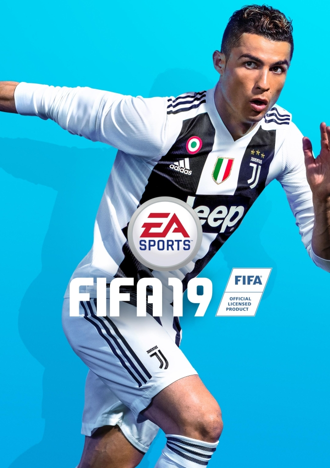 Ronaldo is the FIFA 19 cover star