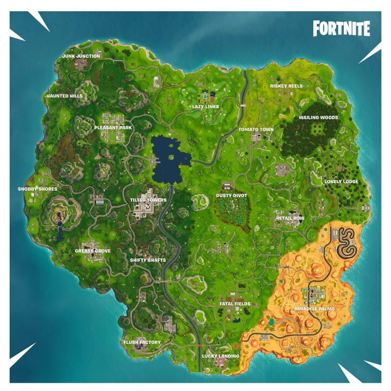 The map is likely to completely change before Season 6