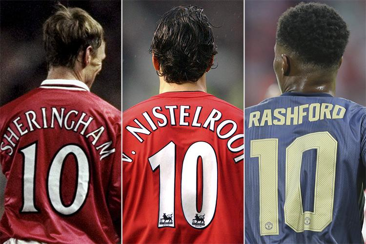 Man United S No 10 Shirt Has Been Defying Convention Since 1997