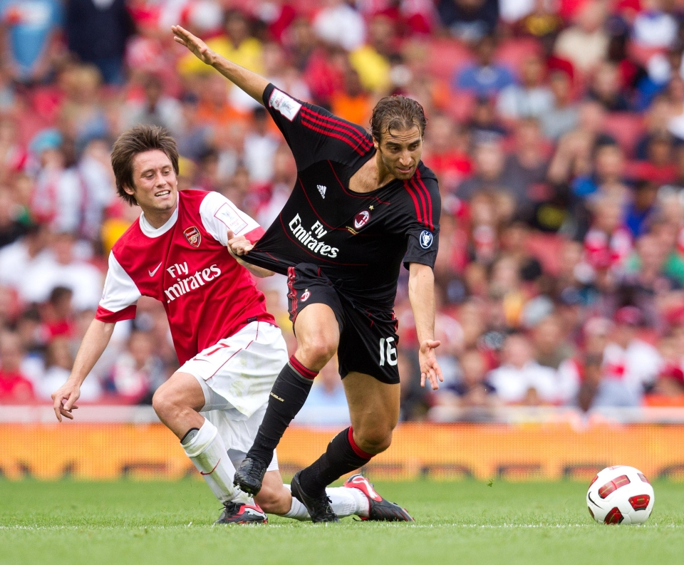 Arsenal never truly forgave him