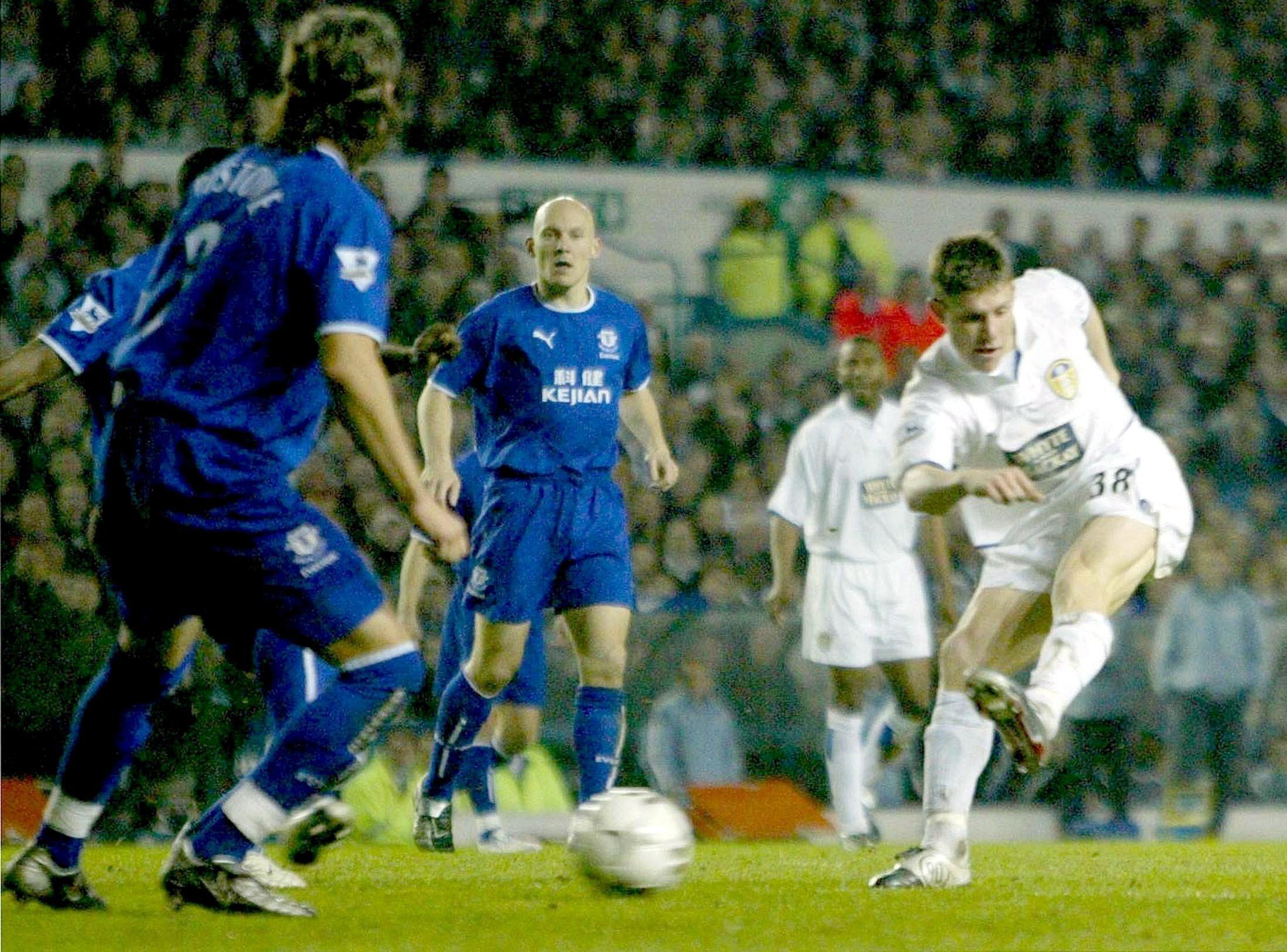 He burst onto the scene during the tail-end of Leeds spell in the Premier League