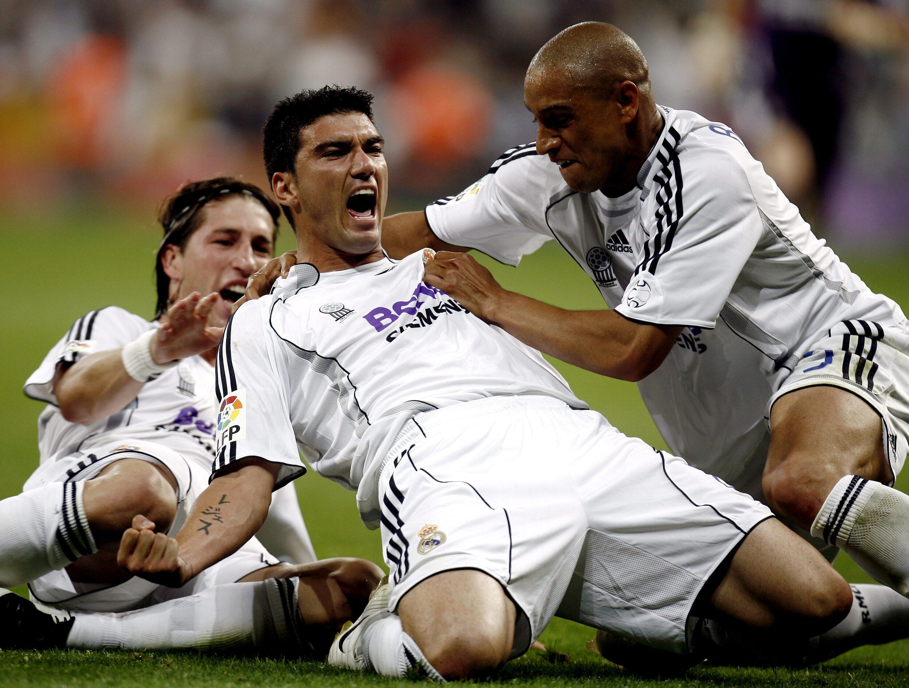 Remember when Sergio Ramos had long hair and no beard?