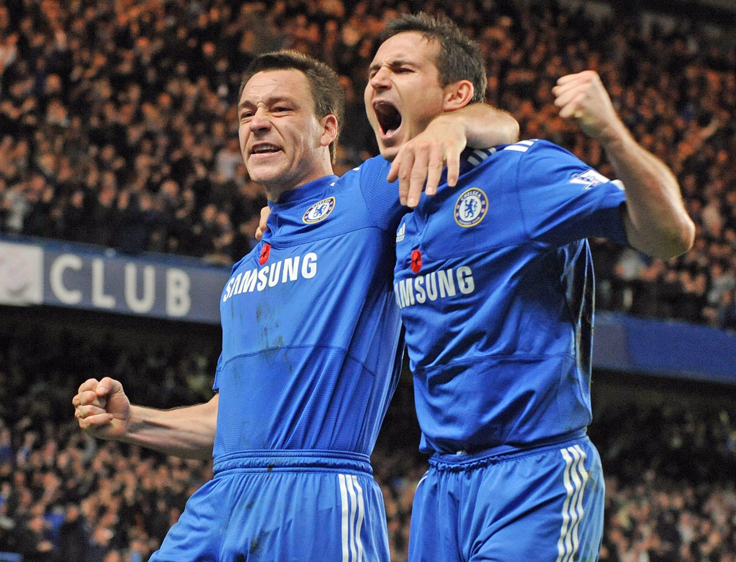 Two of the Premier League's all-time greats
