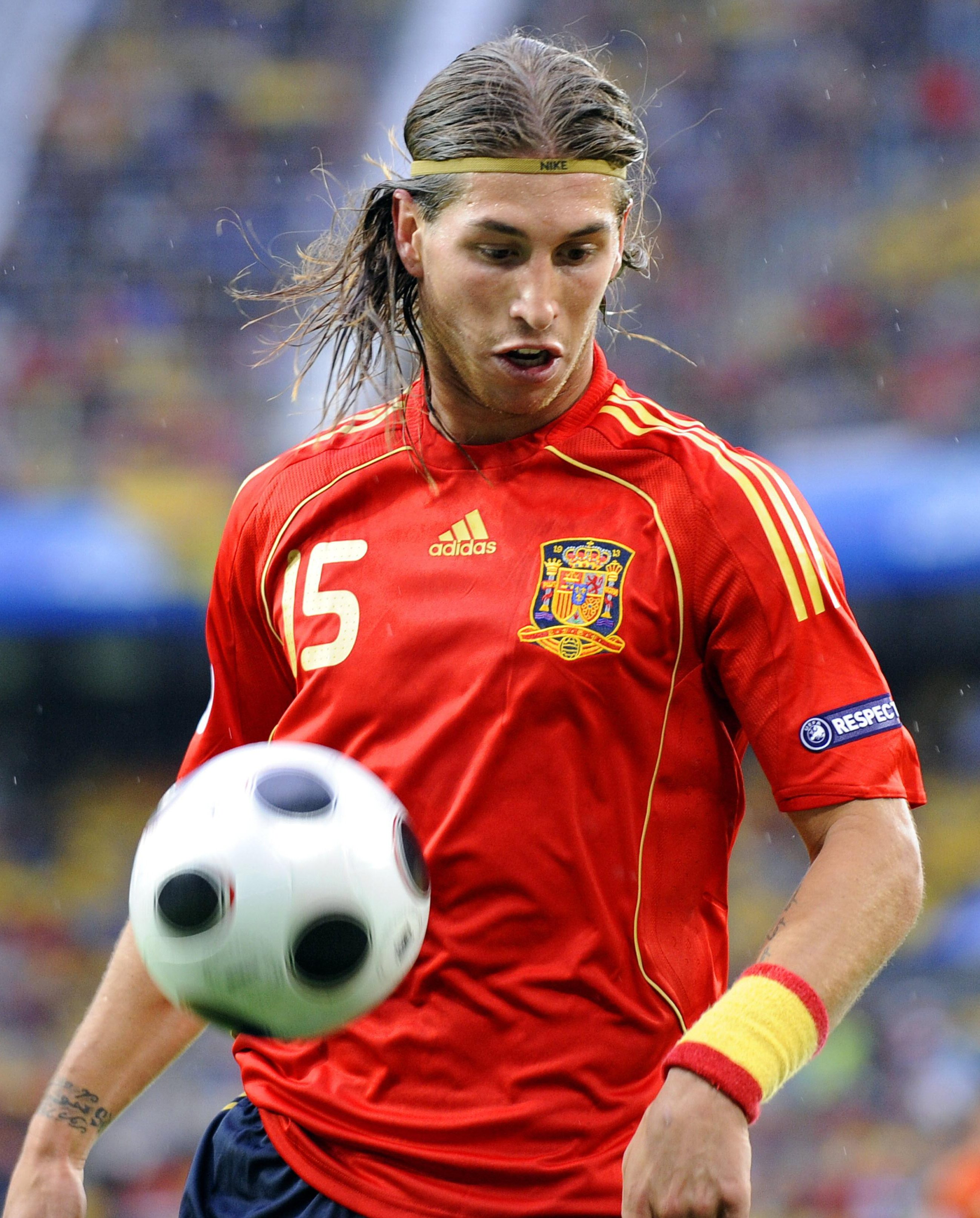 Never forget hairband Ramos