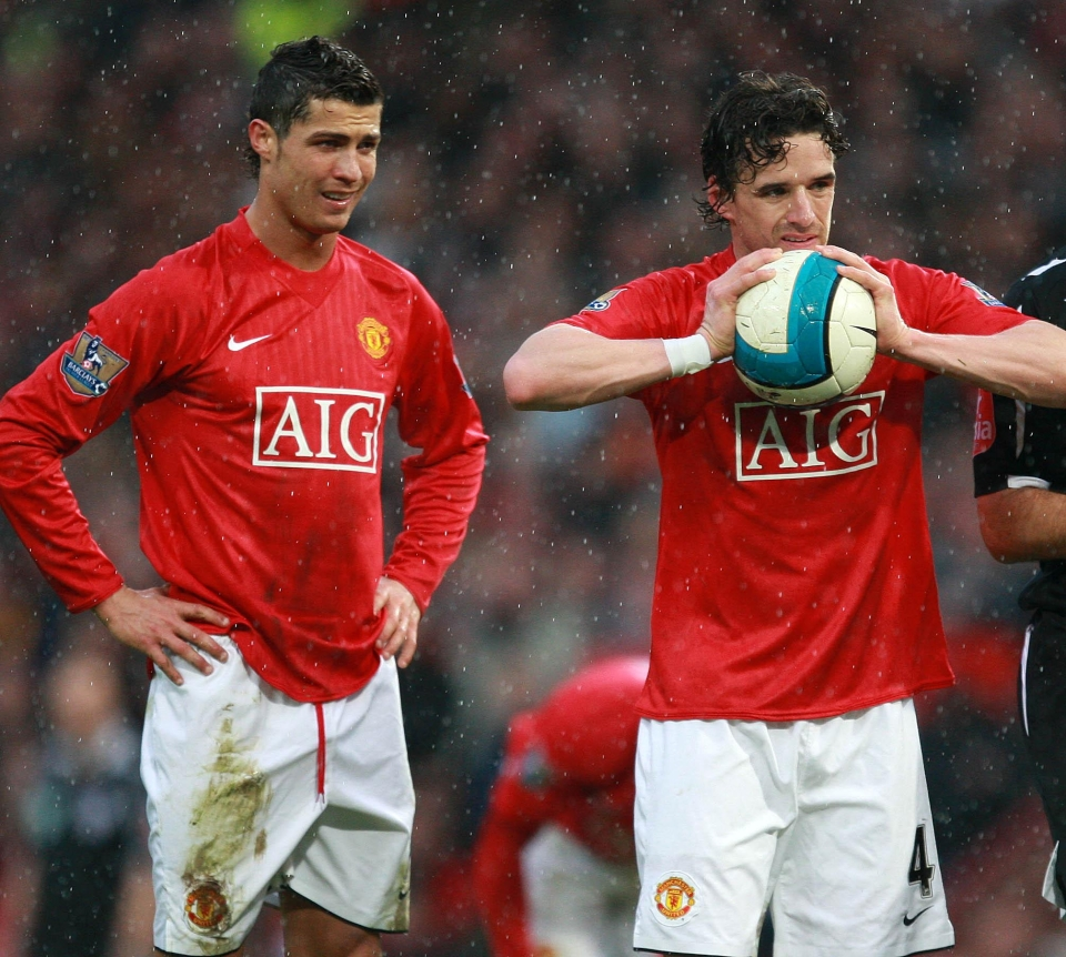 He did once score a free-kick against Arsenal after persuading Cristiano Ronaldo to let him take it