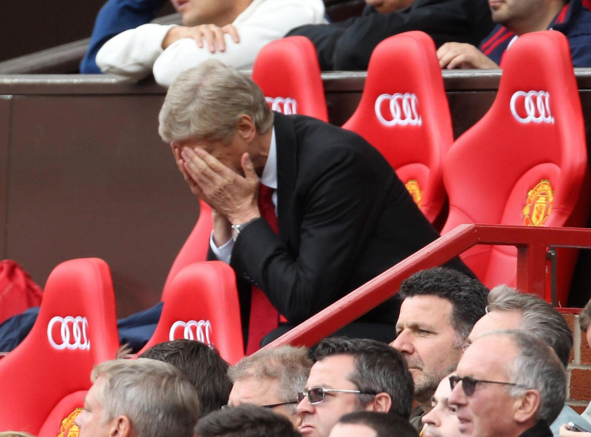 Wake up Arsene. It's all over
