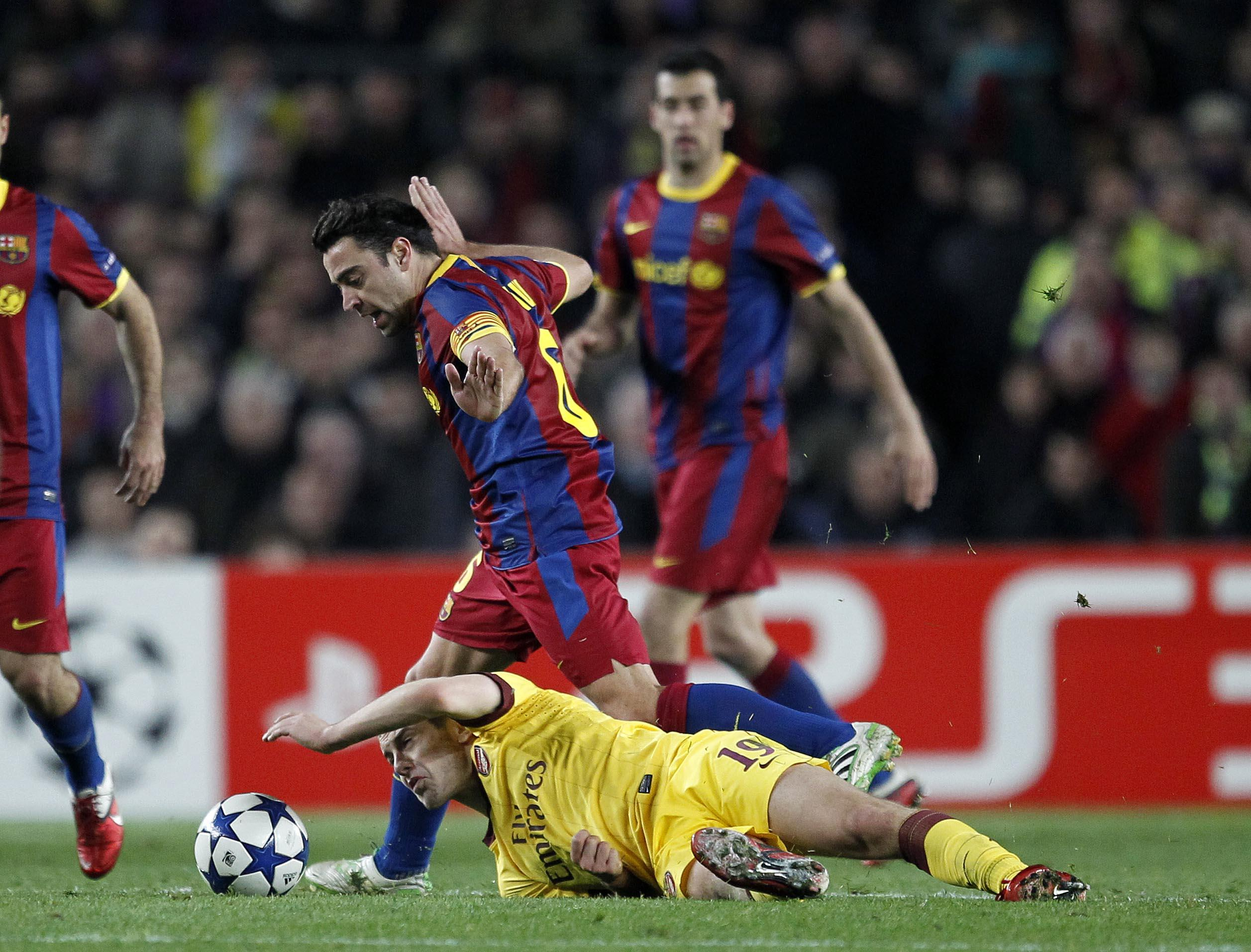 Xavi was impressed? Really?