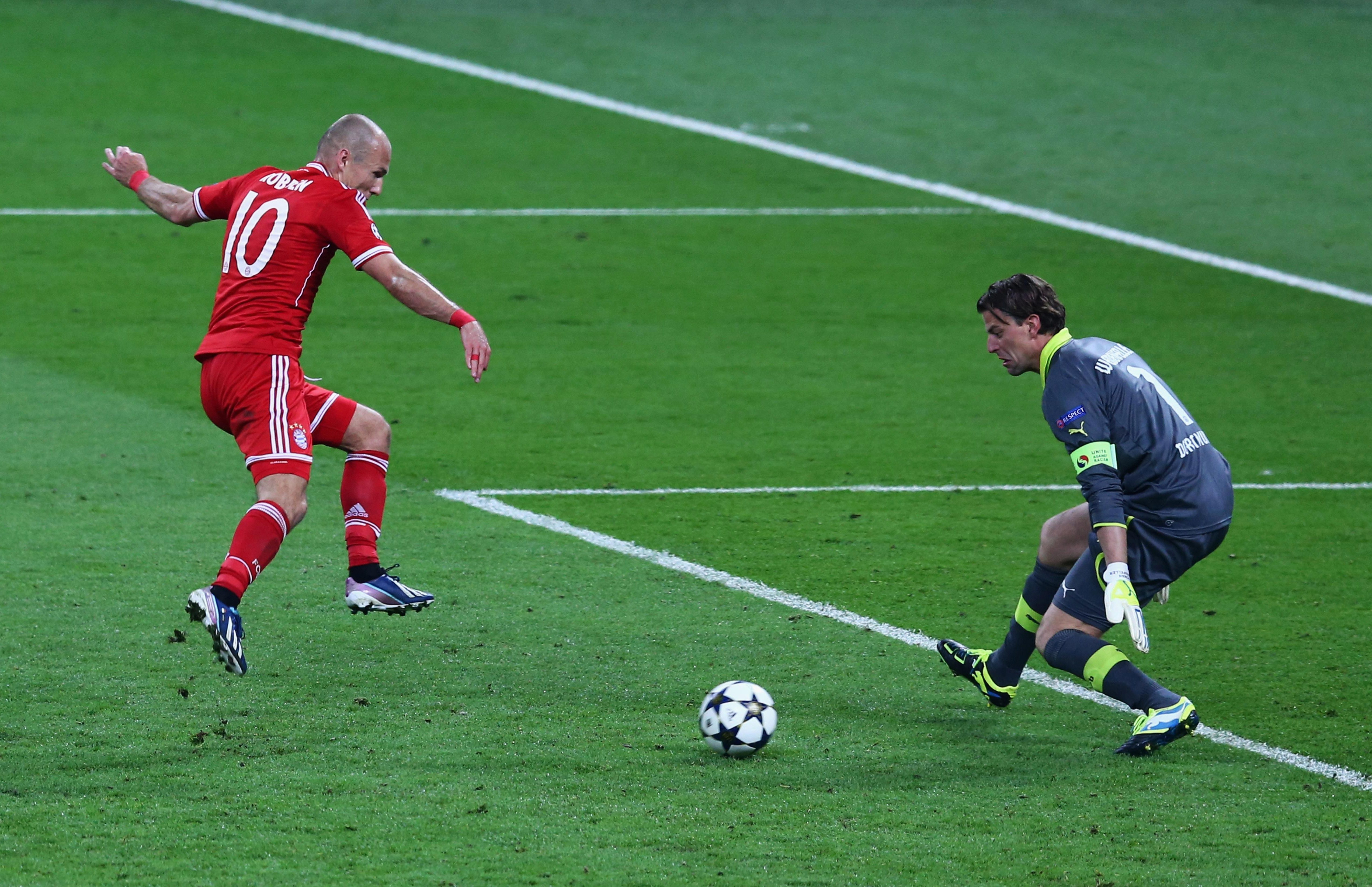 Perhaps the most important goal in Bayern's history