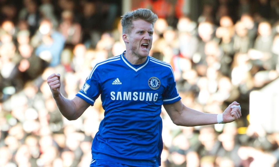 Schurrle's spell at Chelsea included a hat-trick against Fulham