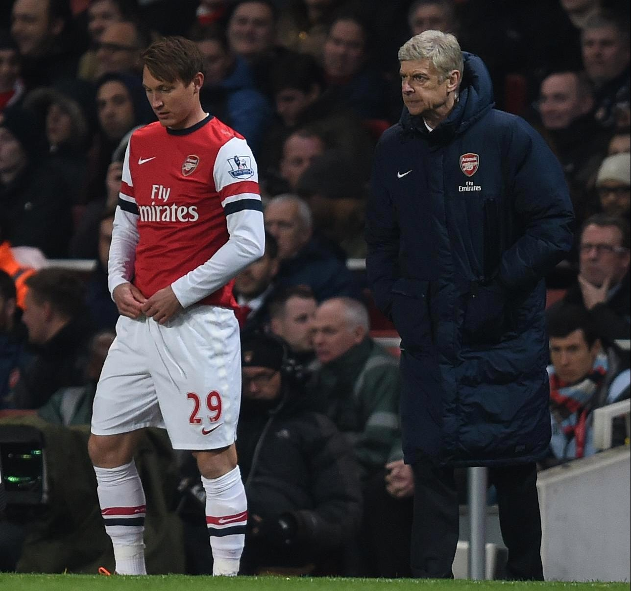 Arsene Wenger famously once signed a man with a broken back