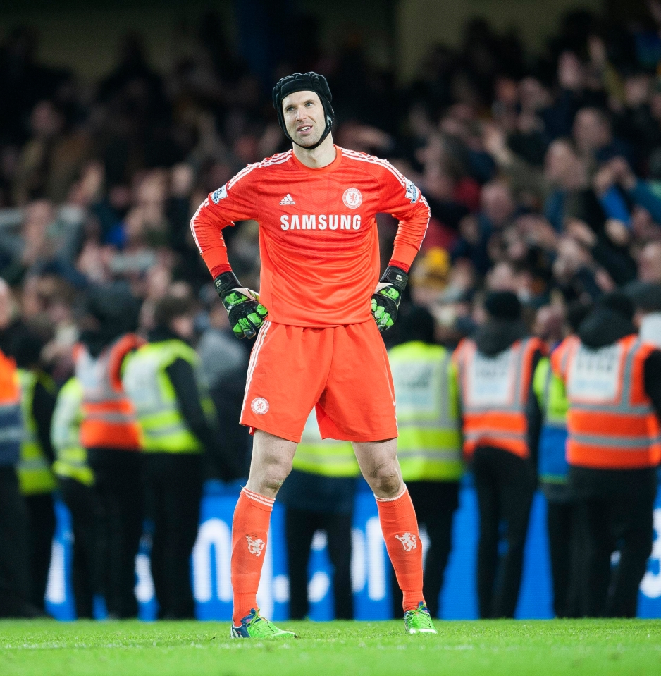 Not a good day for Cech