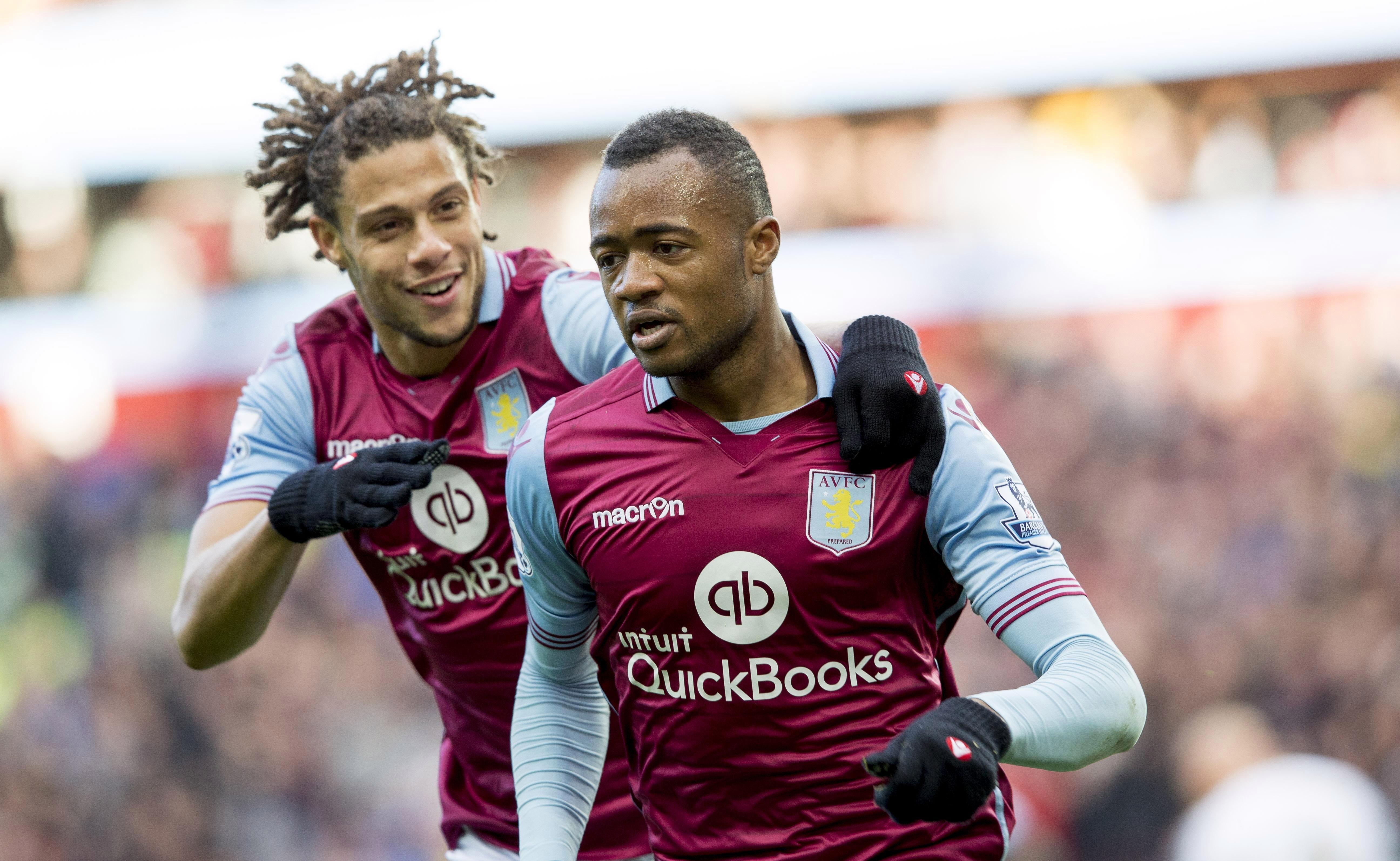 A few moment of joy in a Villa shirt