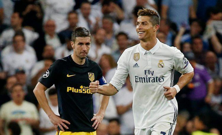 Gabi clearly isn't a Cristiano Ronaldo fan