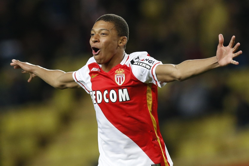A fresh-faced Mbappe still holds the record