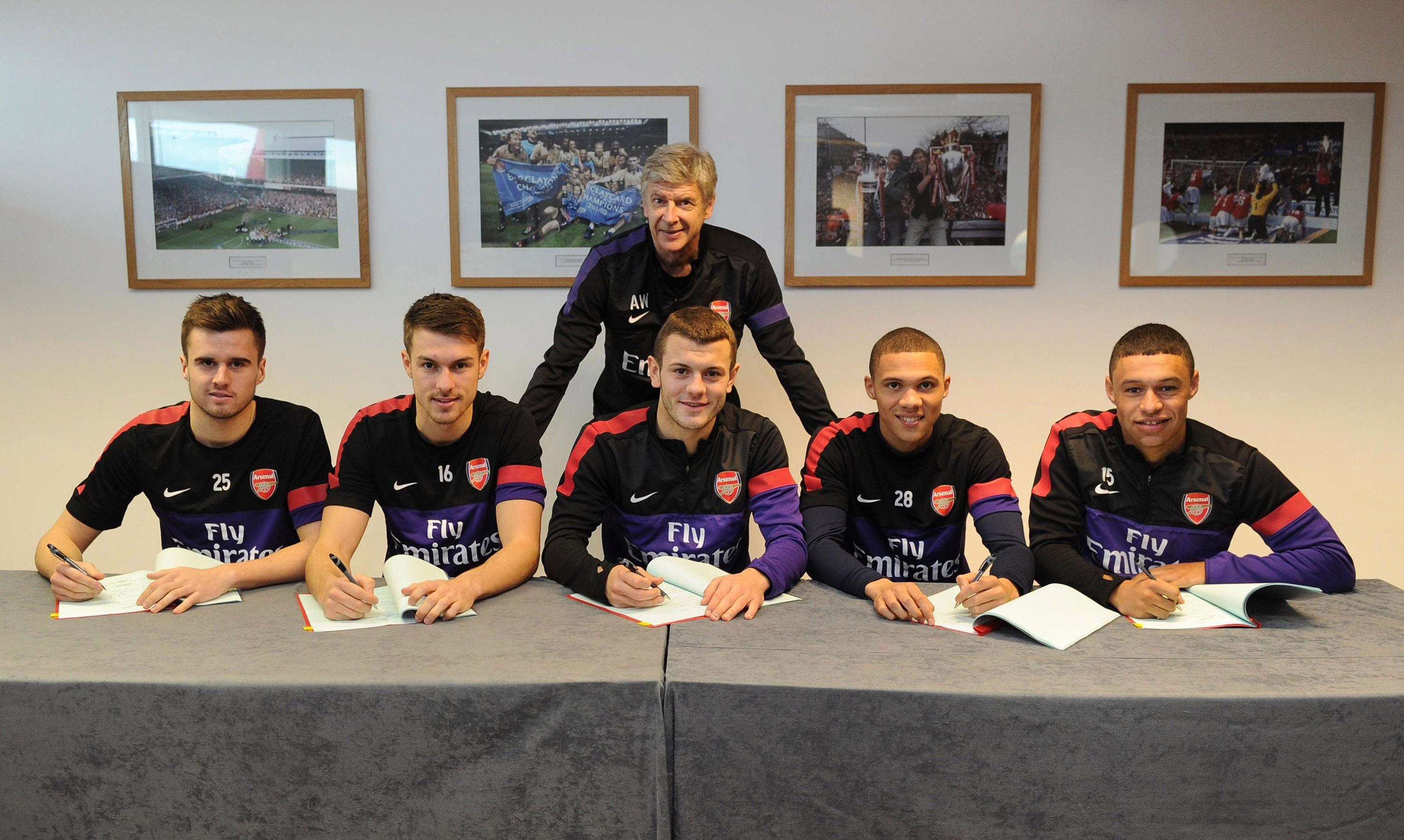 Arsene Wenger's legacy will be giving Jenkinson a five-year extension in 2015