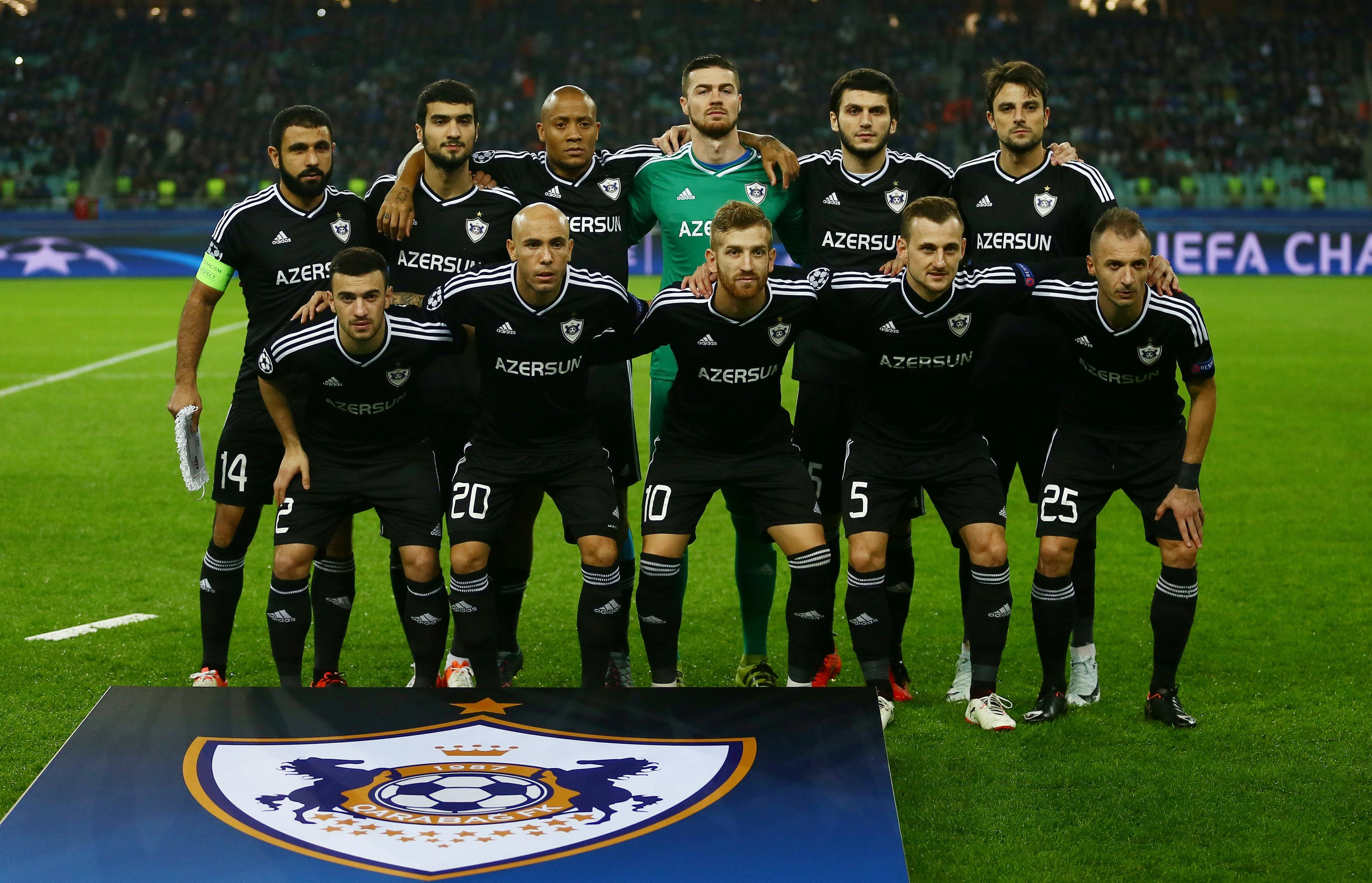 Qarabag faced Chelsea in last season's Champions League