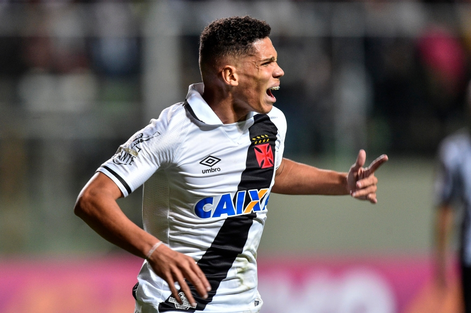 The Brazilian made a name for himself with Vasco