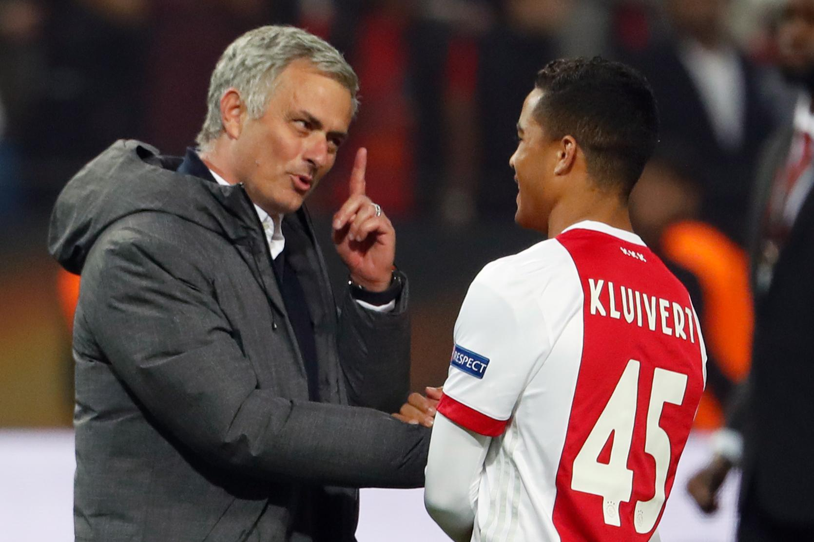 Mourinho won't be so happy when JK45 scores a brace at Old Trafford