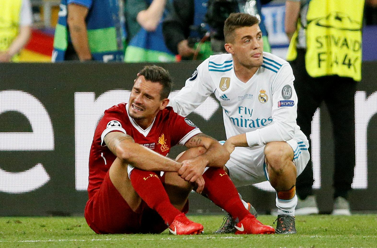 Not even a Prem player yet and he's already made Dejan Lovren cry