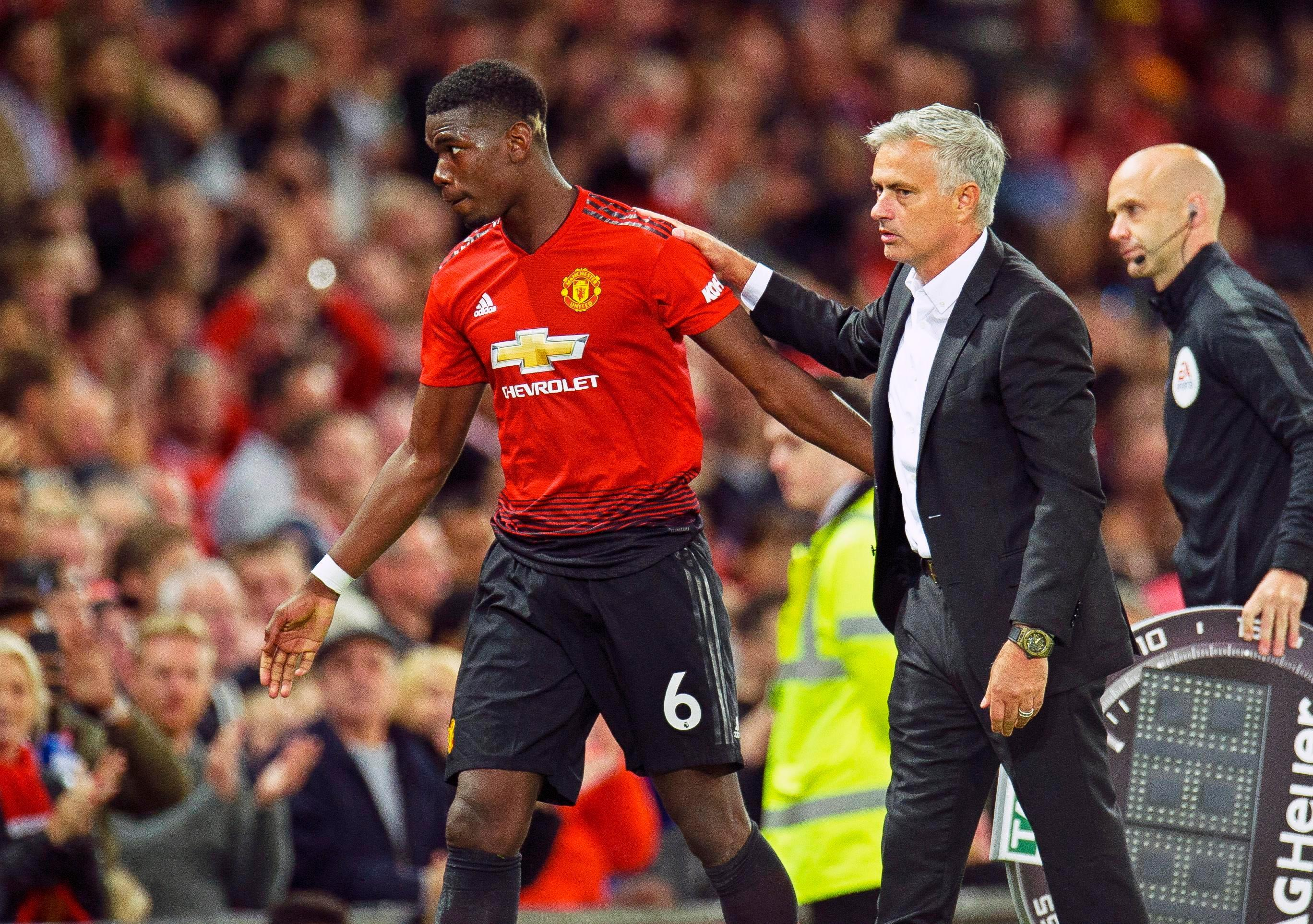 Paul Pogba is apparently going nowhere despite a growing rift with Mourinho