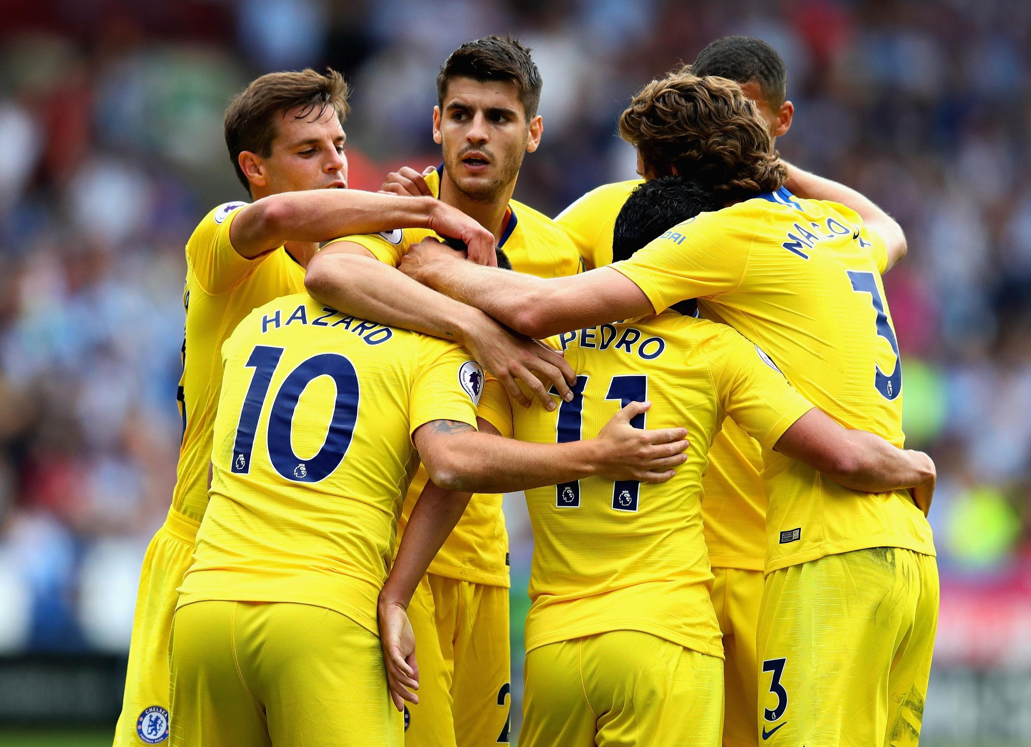 The Blues (yellows)