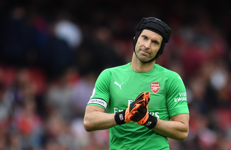 Cech was apologetic after his comical error