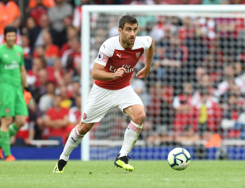 Sokratis was brought in from Germany