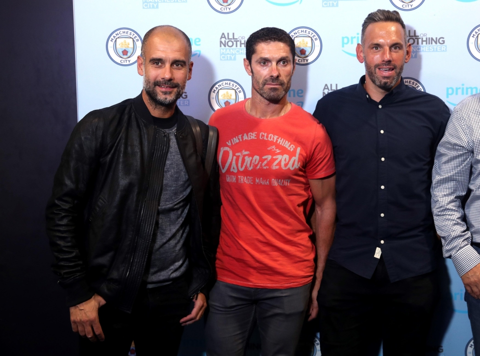We can't wait to find out what Guardiola and Richard Wright talk about