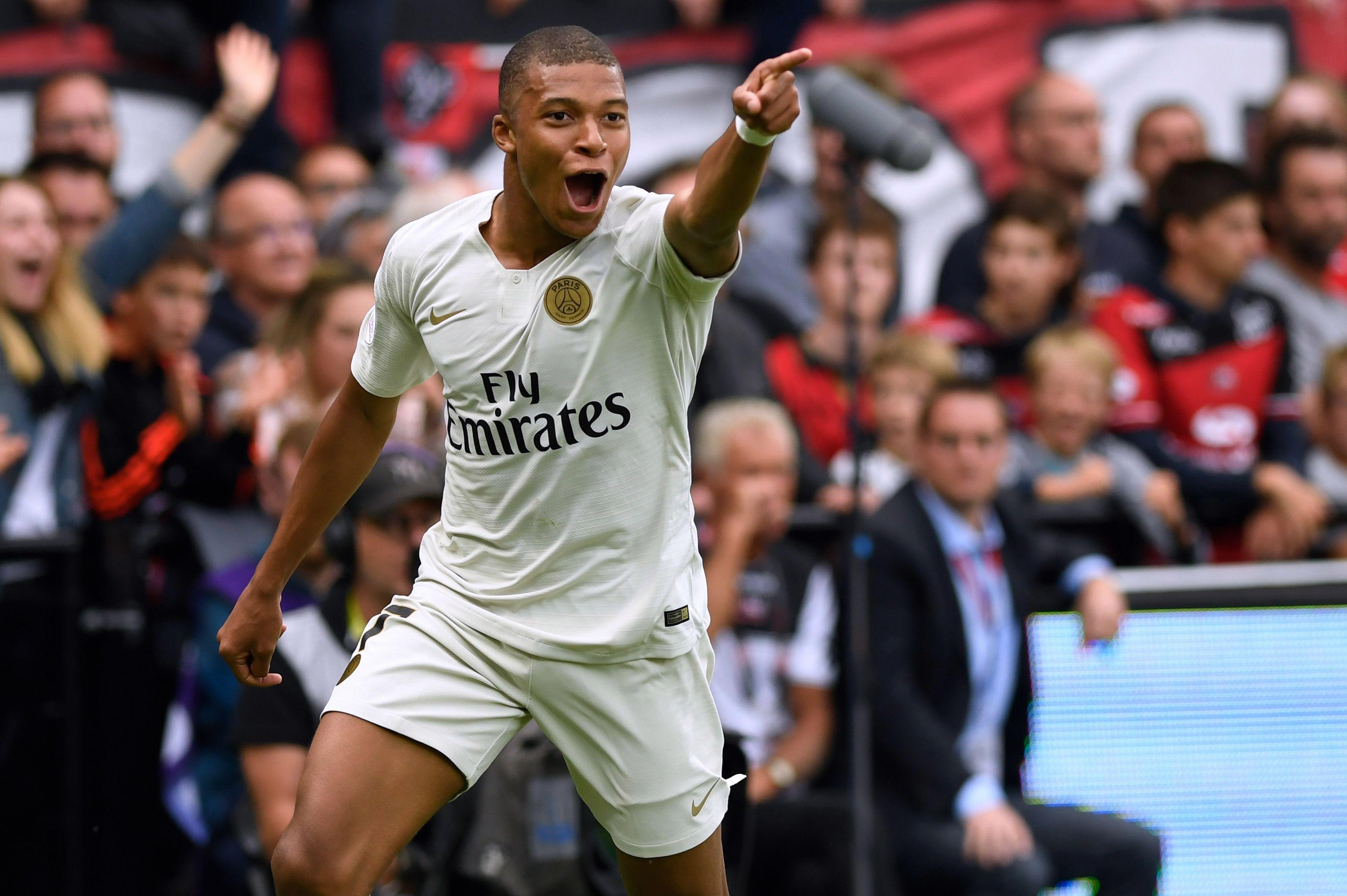 Kylian Mbappe is Real Madrid's No1 target this month