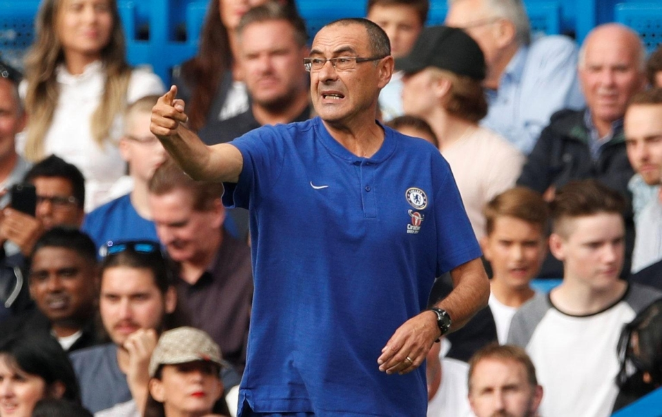 Chelsea boss Maurizio Sarri is ready to unleash Eden Hazard from the off next time out