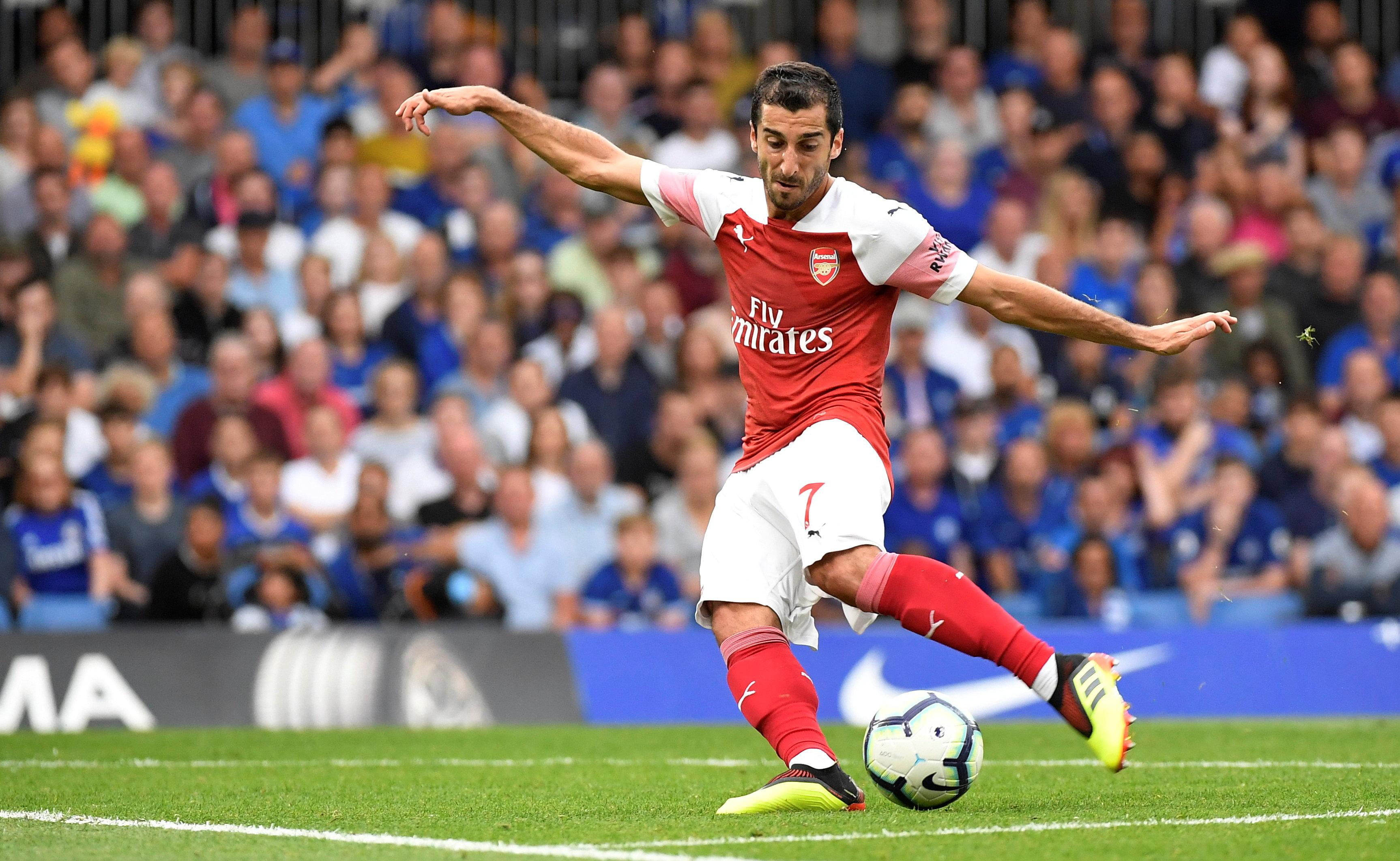 Mkhitaryan has featured in all of Arsenal's Premier League game so far