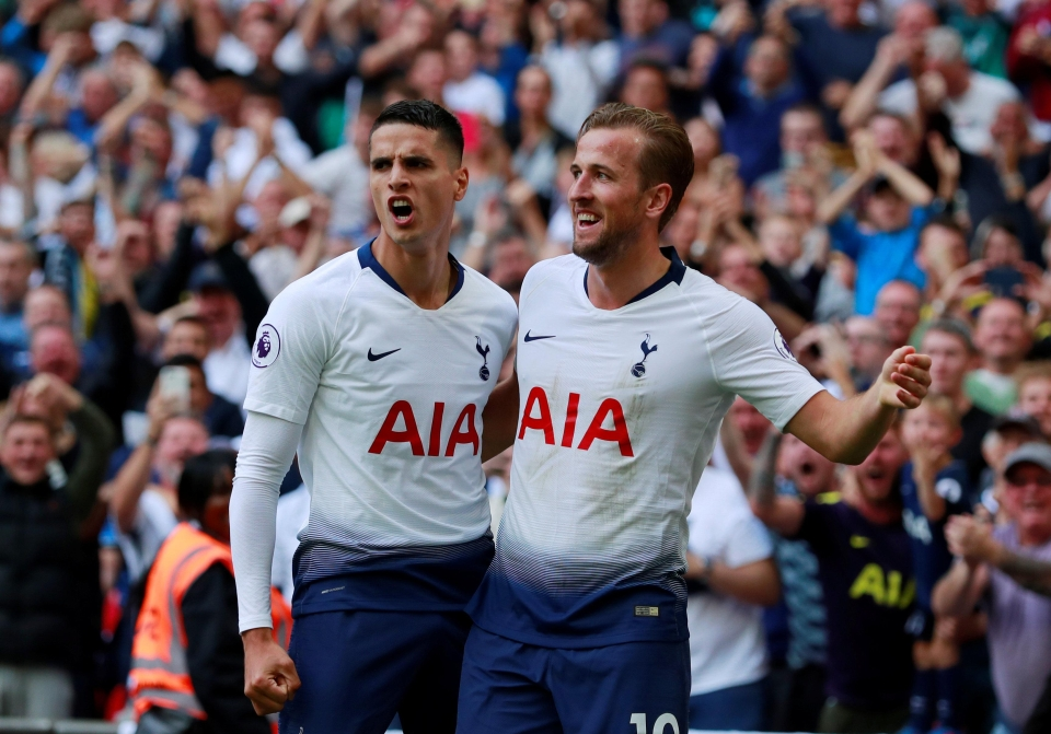 Lamela is so good he can make Kane score in August