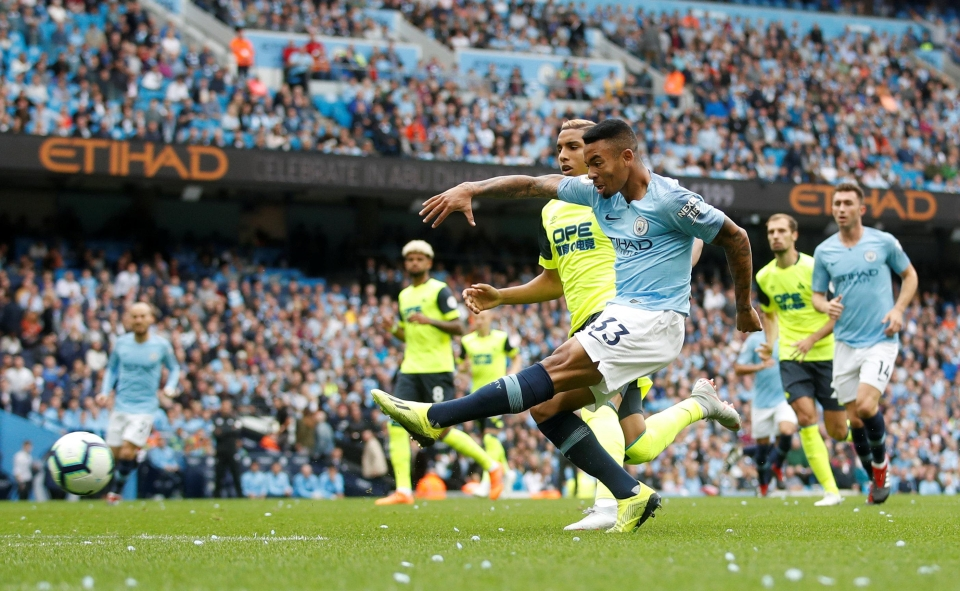 A strike partnership of Jesus and Aguero may be implemented frequently at home this season