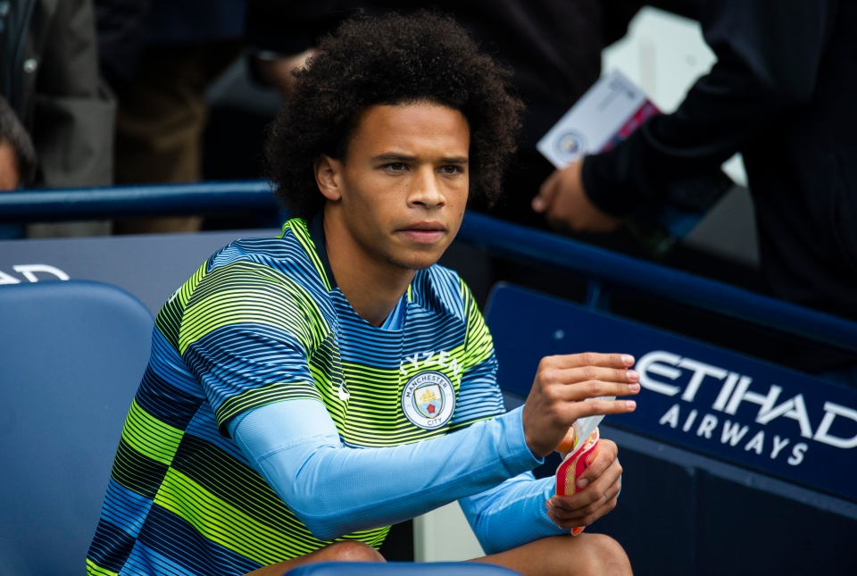 Sane hasn't started either of City's games