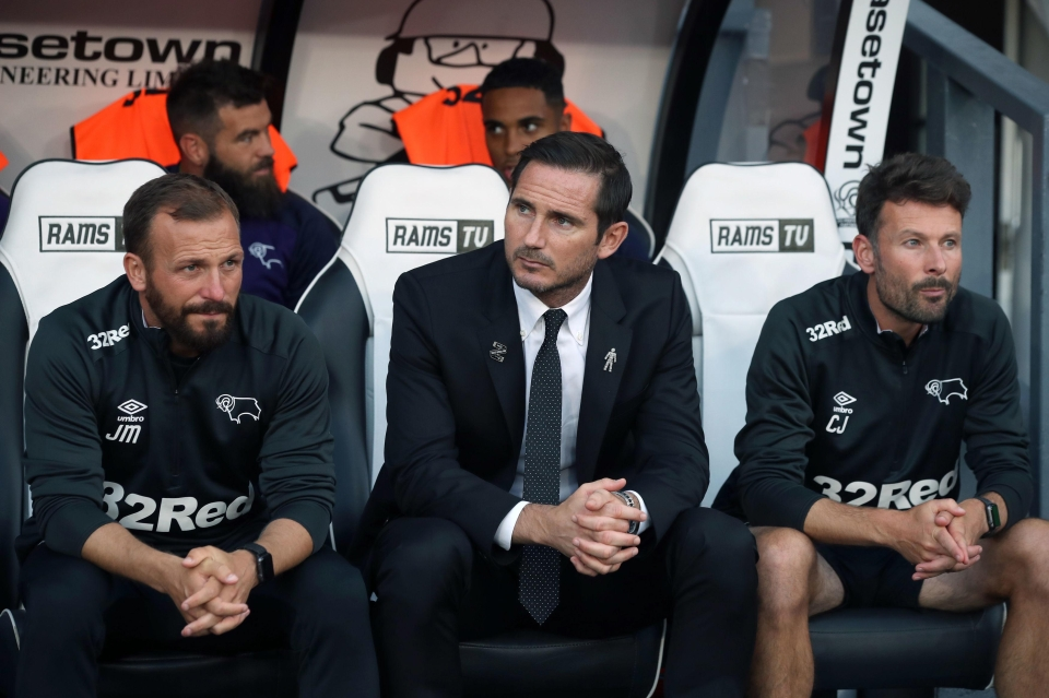 A new chapter for Derby and Lampard
