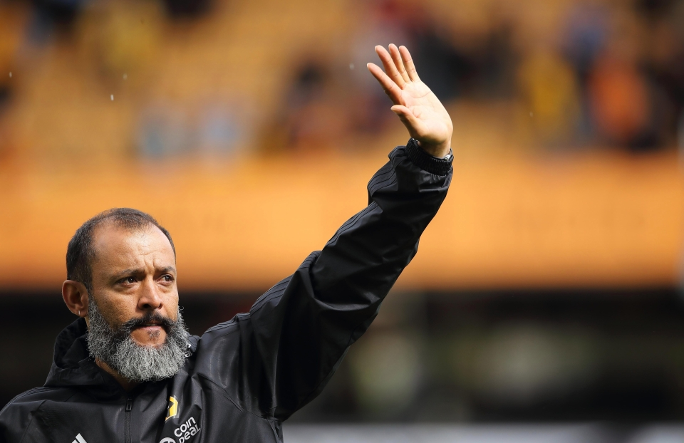 Current Wolves boss Nuno Espirito Santo was at the helm for two years between 2012 and 2014