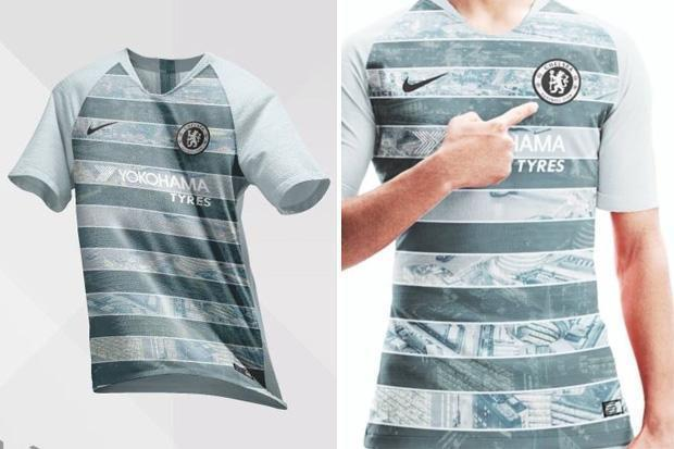 Chelsea third kit leaked revealing London cityscape design by Nike