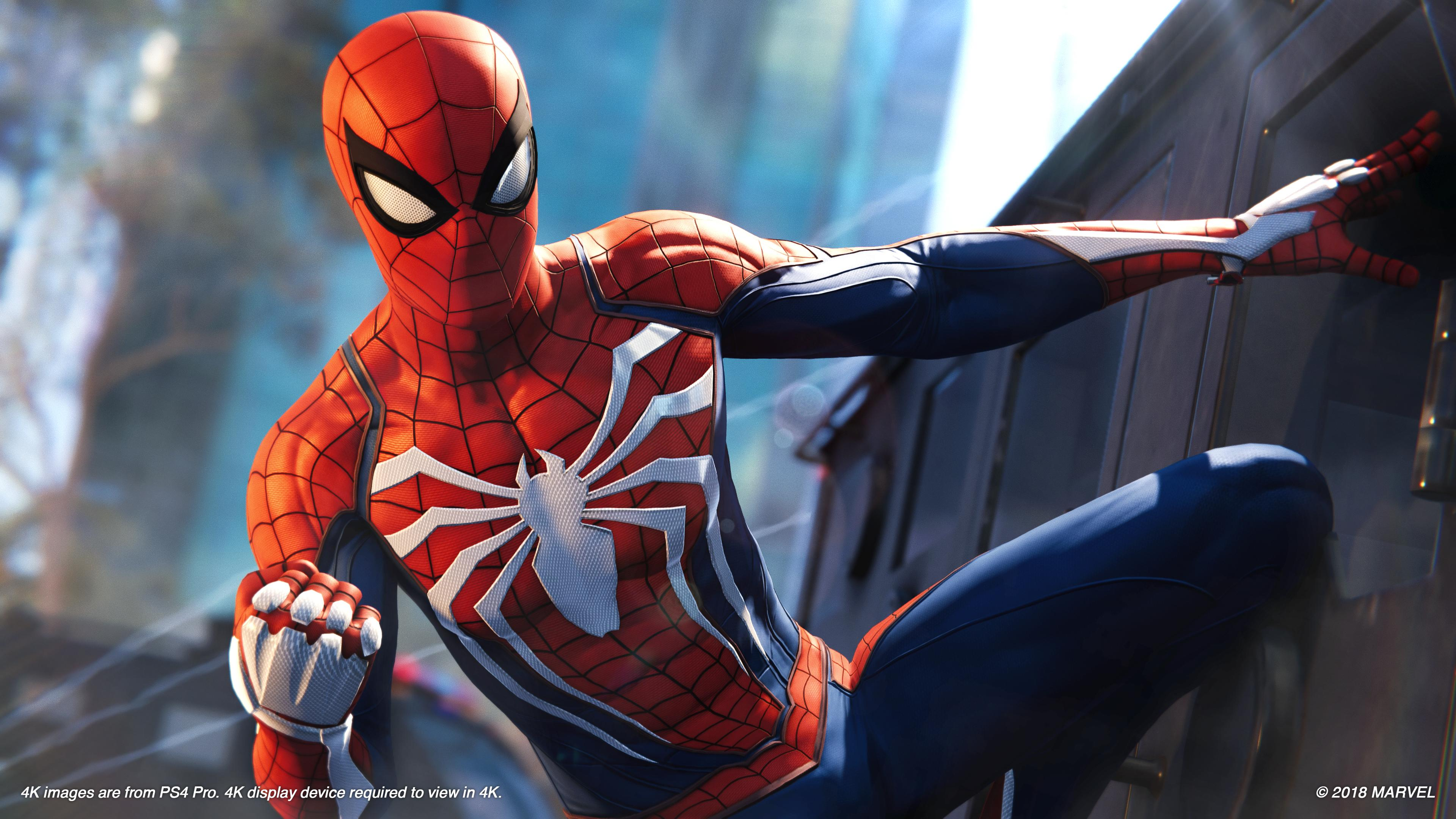 Marvel's Spider-Man is shaping up very nicely indeed