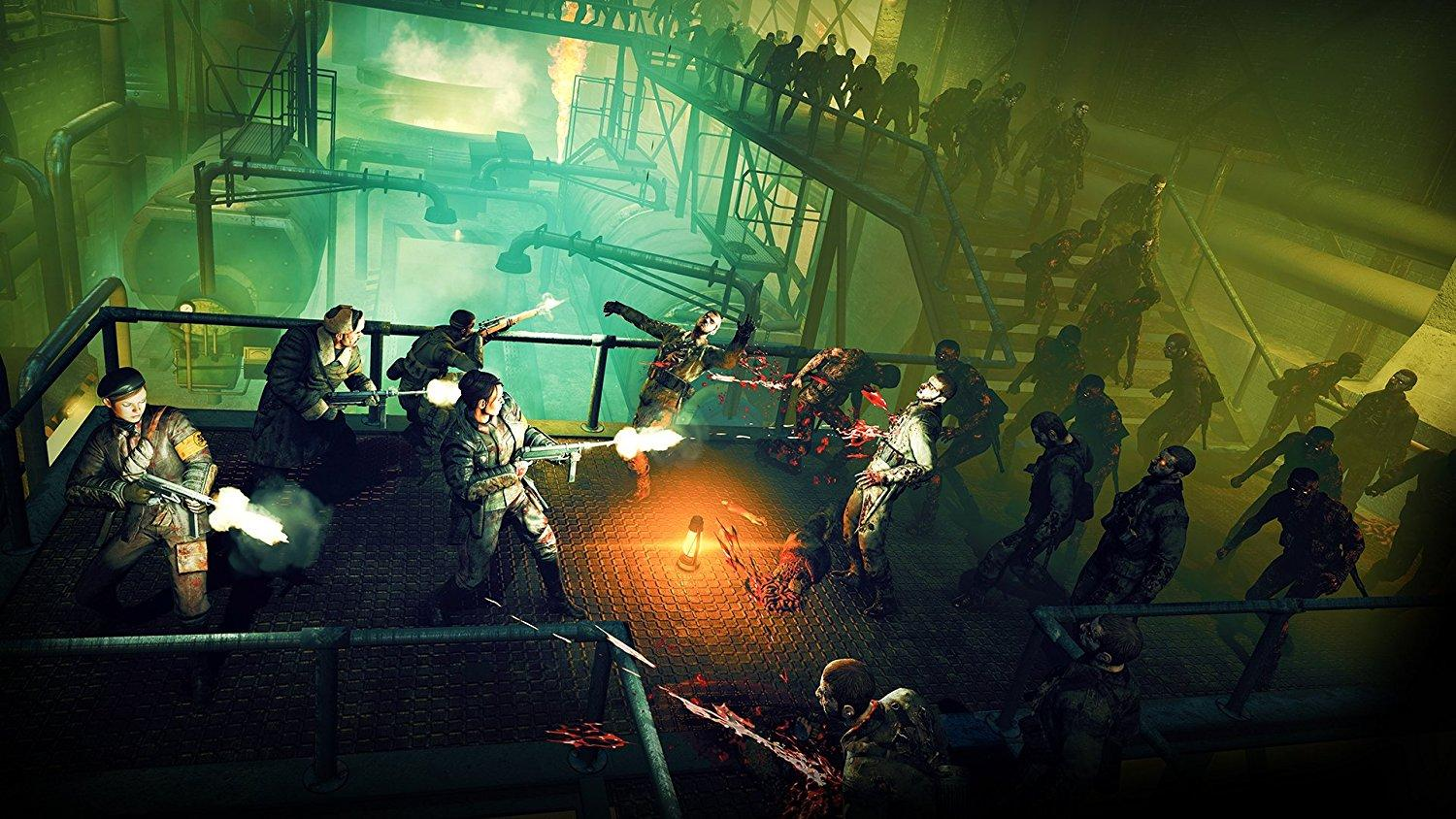 Aspects of the Zombie Army trilogy can be seen clearly in this game