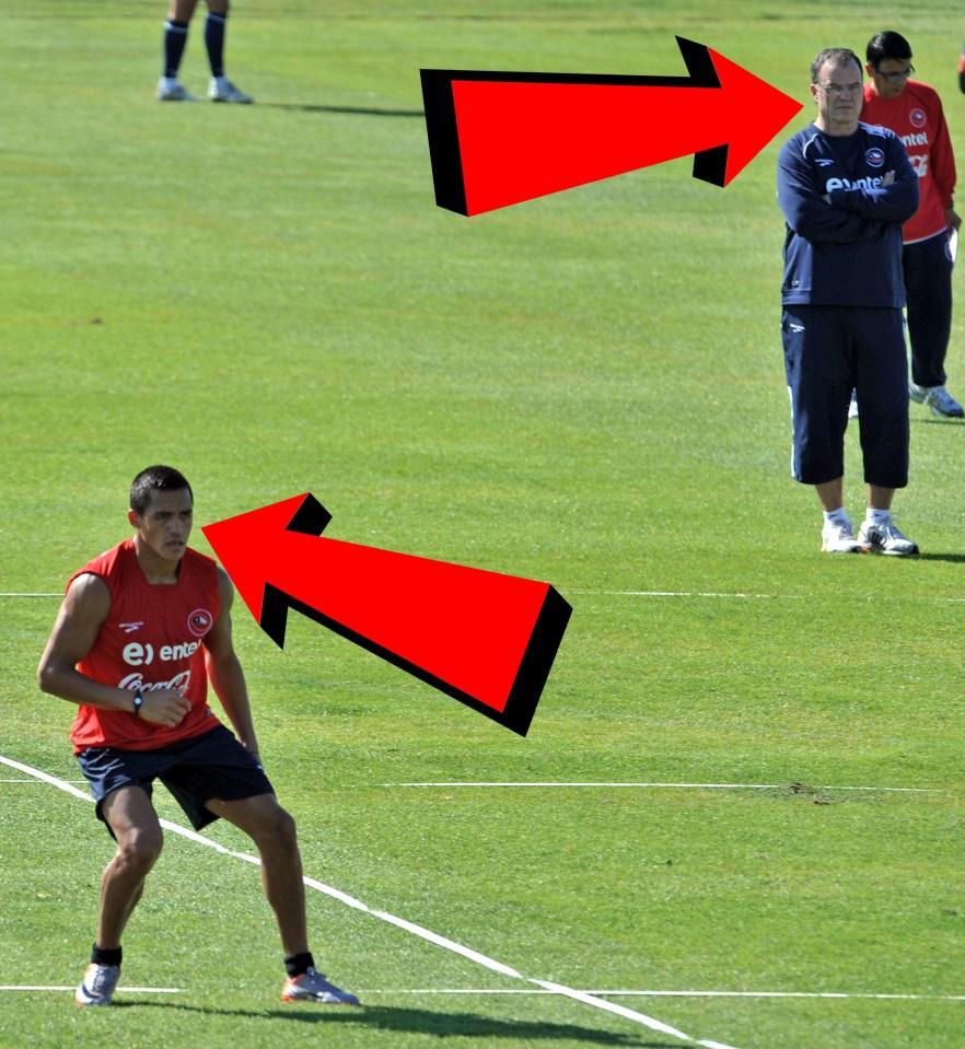 Sanchez. Bielsa. Realistic.