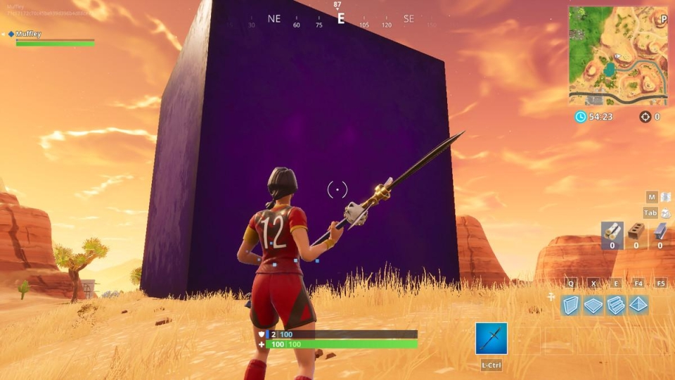 Don't get to close to the cube or you may regret it
