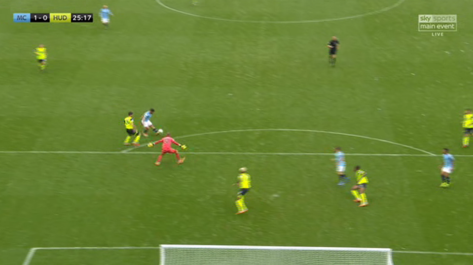 This was a goal-kick 3 seconds ago
