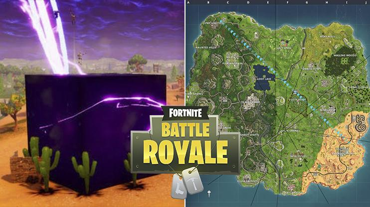 The new purple cube in Fortnite is going to make the run up to Season 6 very exciting