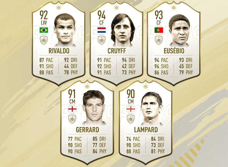 Players are happy with the 10 additional icons that have been confirmed this year