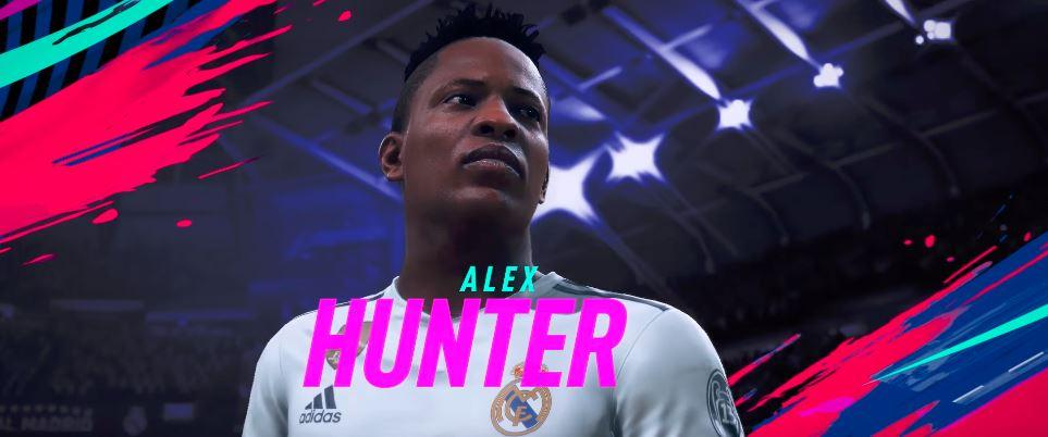 Hunter makes a return rocking his new Real Madrid kit