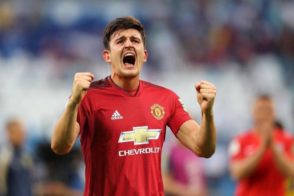 Could we be seeing Harry Maguire in a United shirt during the opening game?